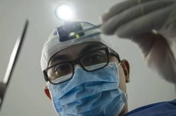 Knochenaufbau Zahnimplantat