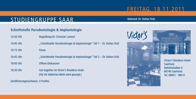 Studiengruppe Saar 2011 11 18